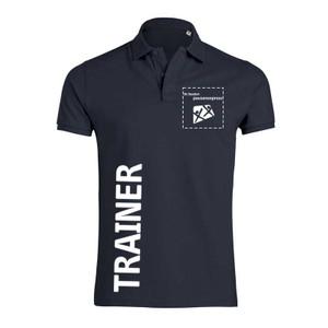 "Pausenexpress - ""Trainer"" Polo Herren 001"