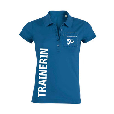 "Pausenexpress - ""Trainerin"" Polo Damen"