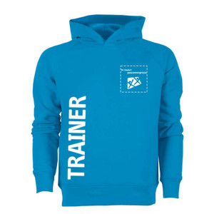"Pausenexpress - ""Trainer"" Hooded Sweatshirt Herren 001"