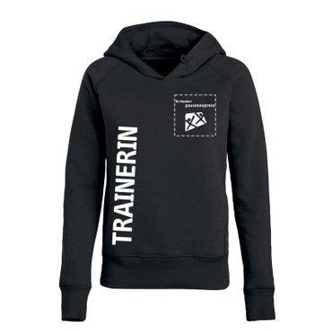 "Pausenexpress - ""Trainerin"" Hooded Sweatshirt Herren"