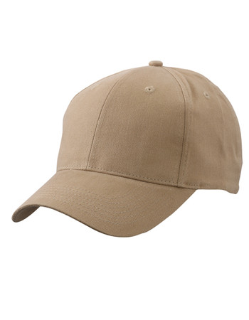Brushed 6-Panel Cap – Bild 1