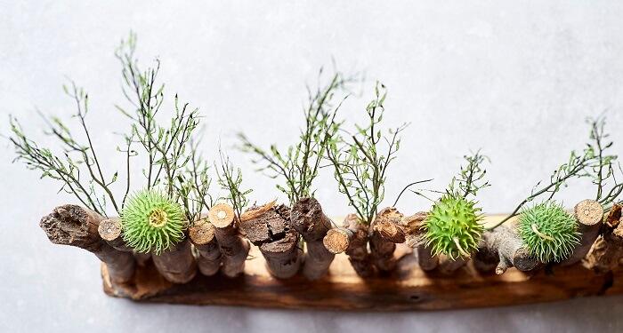 Osterdeko aus Holz