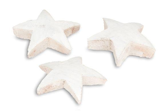 Kokos Stern XL weiß 50 Stk. ca. 10cm  – Bild 4