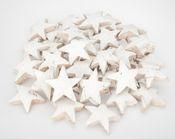 Kokos Stern XL weiß 50 Stk. ca. 10cm  – Bild 2