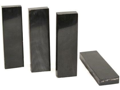 Büffelhornplatten 130x40x12mm Wasserbüffelhorn