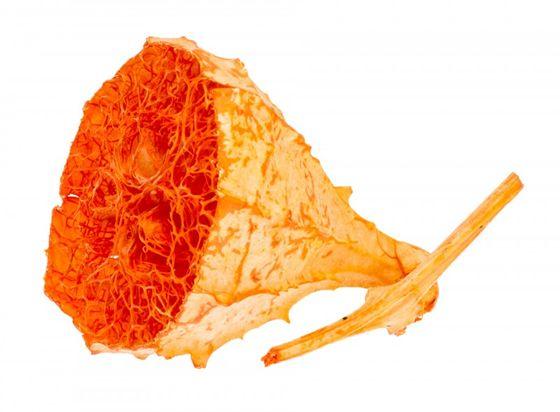Loafy Spiky halbiert orange ca. 3-5cm – Bild