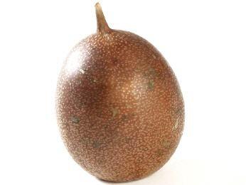 Passion Frucht braun ca. 7cm – Bild