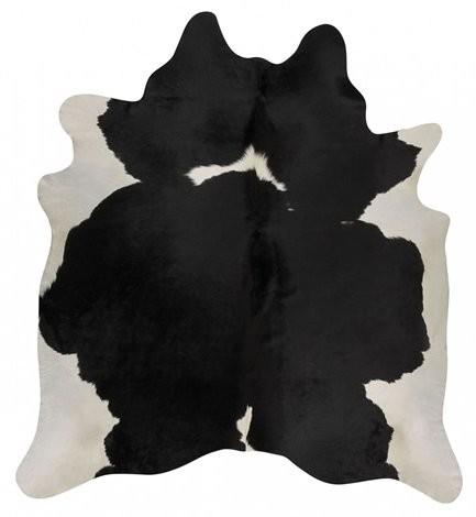 Kuhfell schwarz-weiß gescheckt 3-4m² – Bild 3