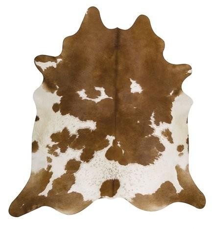 Kuhfell braun-weiß gescheckt 3-4m² – Bild 1