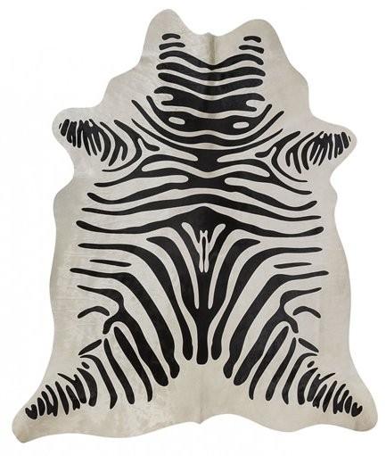 Kuhfell mit Zebradruck 2-3m²