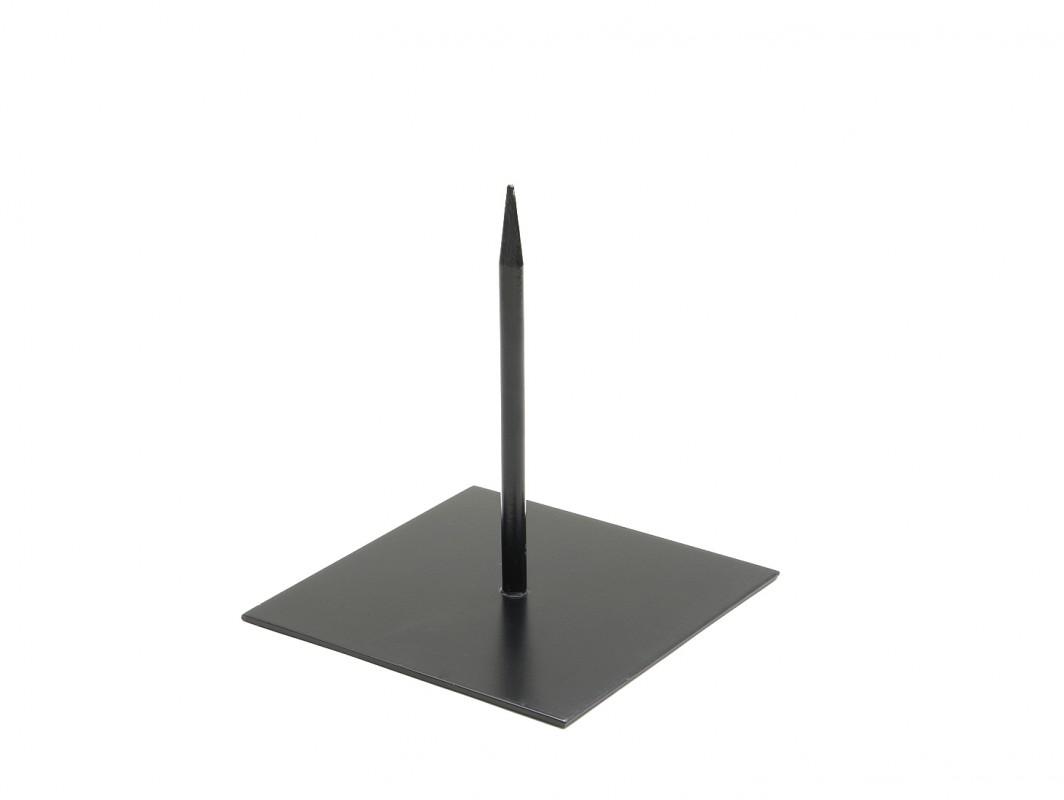 Metallständer 18x18cm schwarz