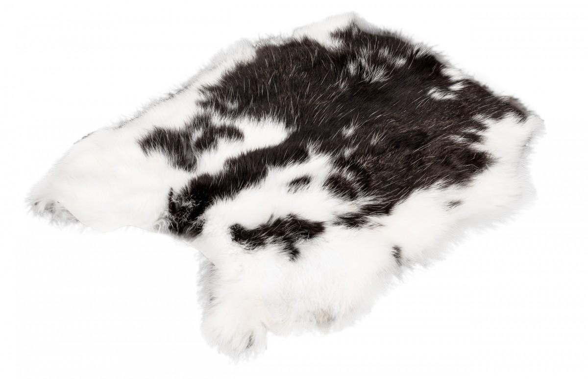 Hasenfell gescheckt | Kaninchenfell