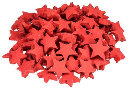 Kokos Stern rot 100 Stk. ca. 5cm – Bild 1