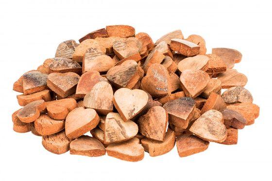 Kokos Herz natur ca. 5 cm 100 Stk. – Bild