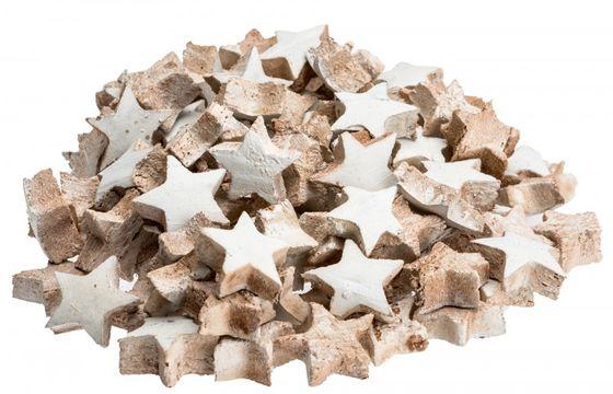 Kokos Stern mini weiß 100 Stk. ca. 3cm – Bild