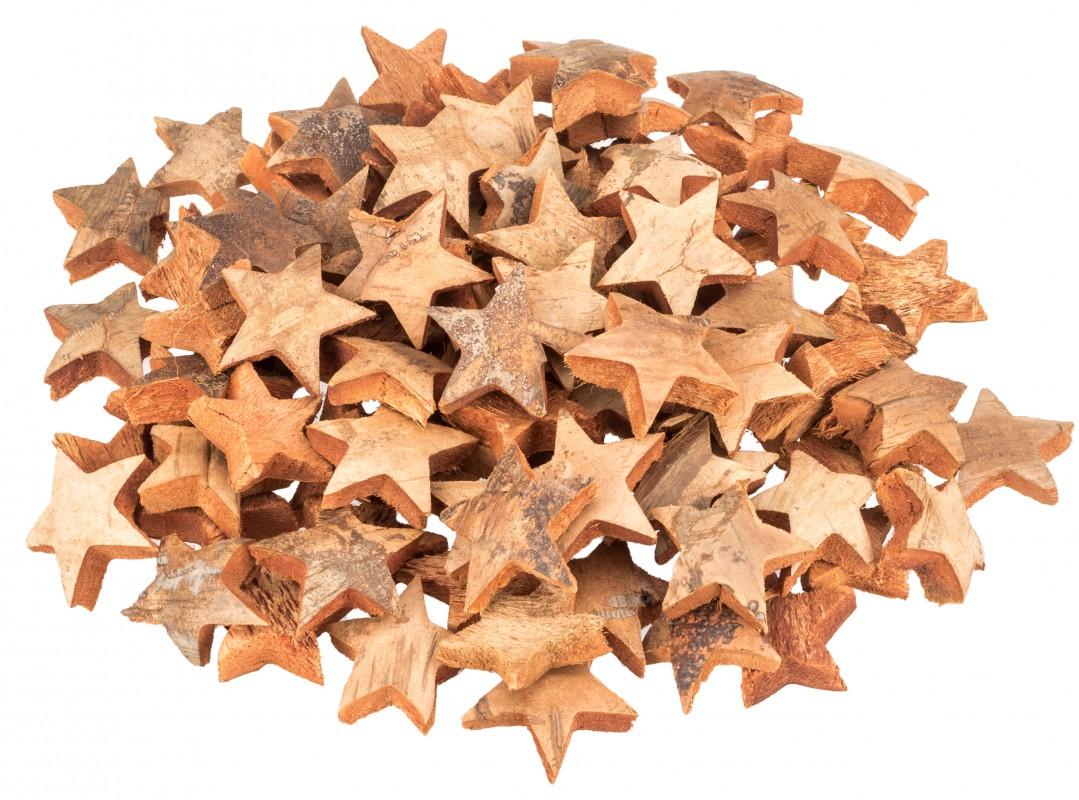 Kokos Stern natur 7cm 100 Stk.
