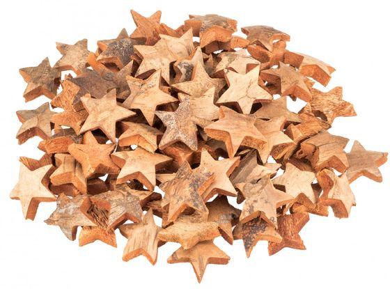 Kokos Stern natur 7cm 100 Stk. – Bild 1