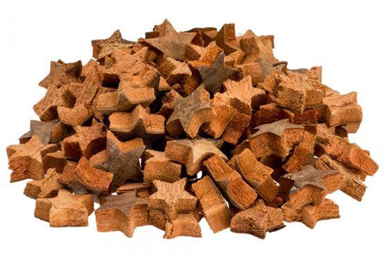 Kokos Stern mini natur 100 Stk. ca. 3cm – Bild
