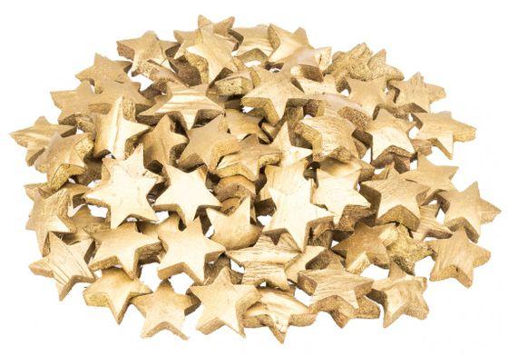 Kokos Stern gold 100 Stk. ca. 5cm – Bild 1
