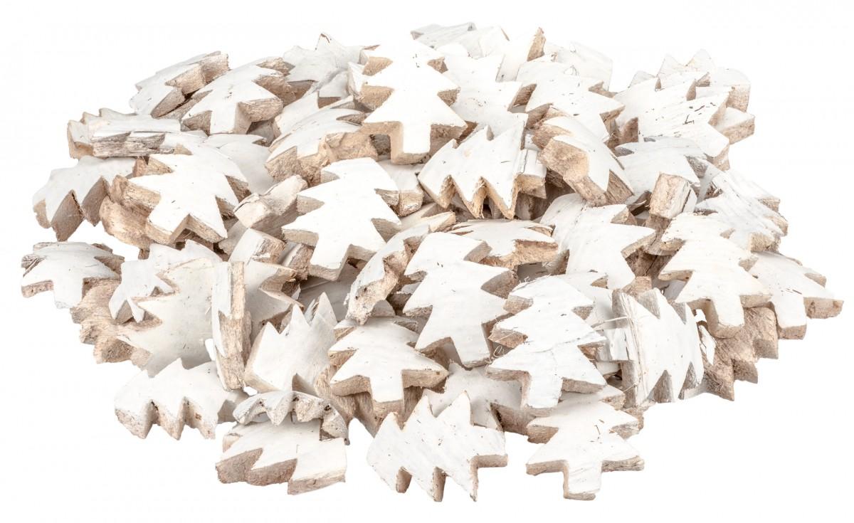 Kokos Tannenbaum weiß 100 Stück