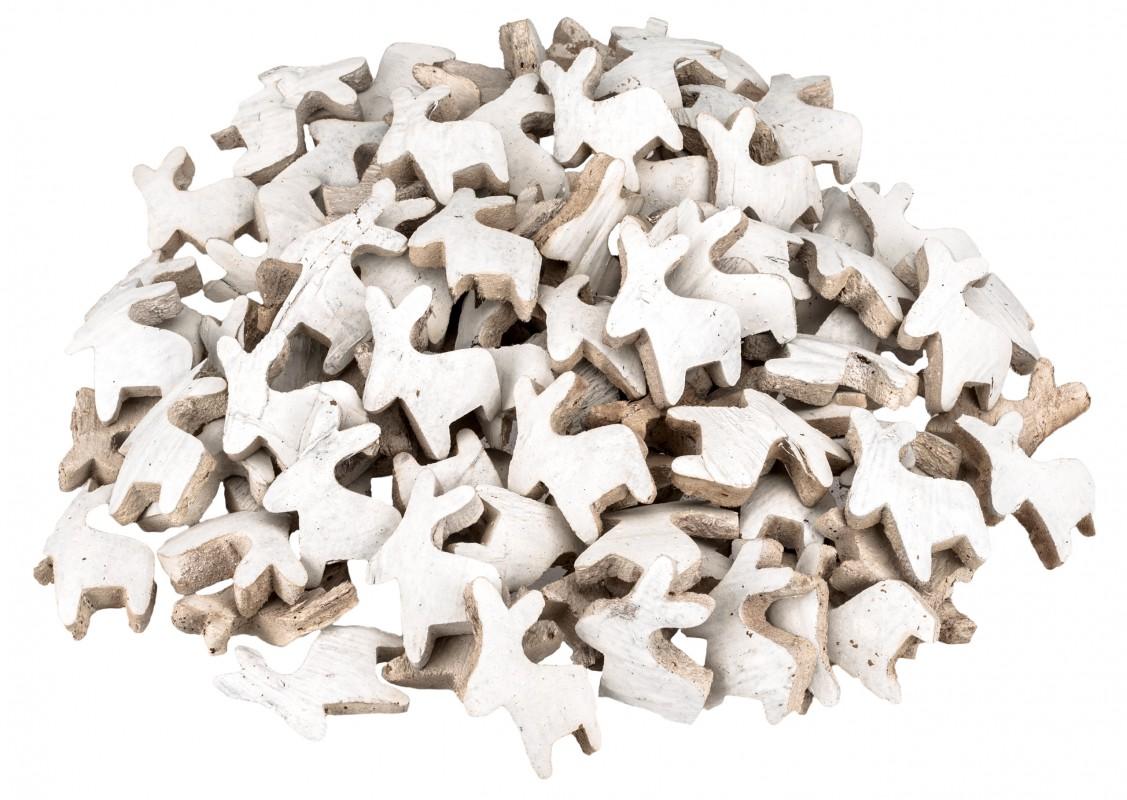 Kokos Rentier weiß 100 Stück