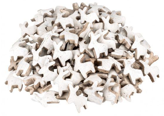 Kokos Rentier weiß 100 Stück – Bild 1