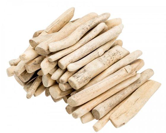 Treibholz getrommelt natur 12-15cm 1kg – Bild