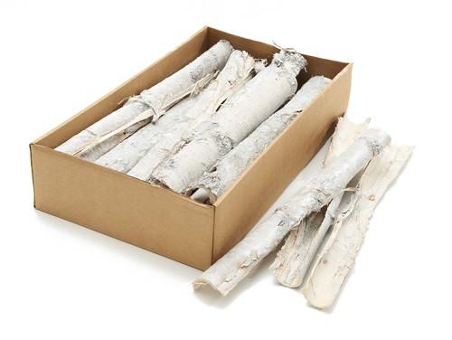 Pappel Rinde weiß 40-45cm ca. 1,5kg