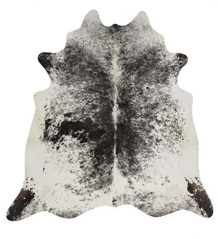 Kuhfell schwarz-weiß Salz und Pfeffer 3-4m² – Bild 1
