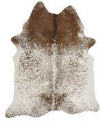 Kuhfell Teppich braun weiß Salz und Pfeffer 3-4m² – Bild 3