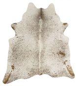 Kuhfell Teppich braun weiß Salz und Pfeffer 3-4m² – Bild 1