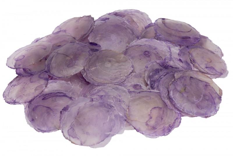Camar lila 0,5kg | Perlmuttscheiben