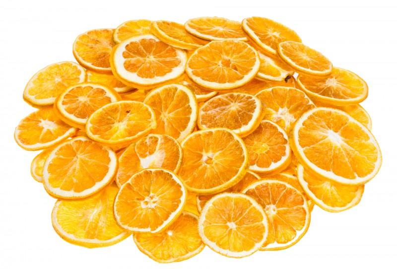 Orangenscheiben 50 Stück