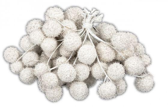 Platan Bälle weiß im Bund ca. 250g – Bild