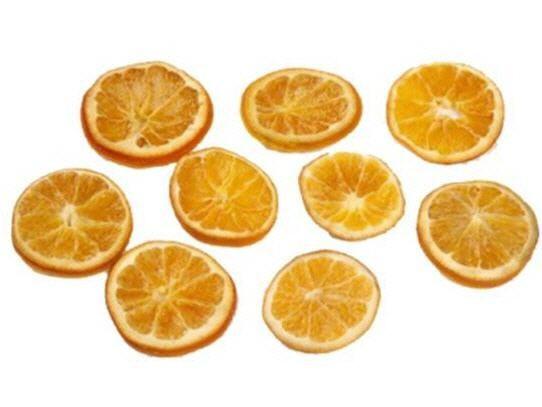 Orangenscheiben getrocknet 100g – Bild