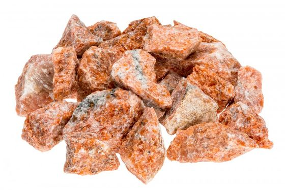 Orange Calcite 1kg | Dekosteine – Bild