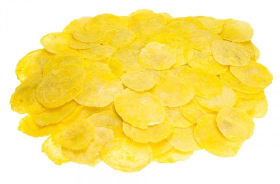 Camar gelb 0,5kg | Perlmuttscheiben – Bild