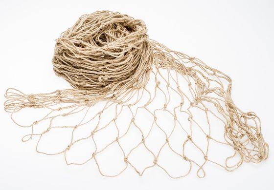 Fischernetz, 3m² natur | 120x250cm – Bild