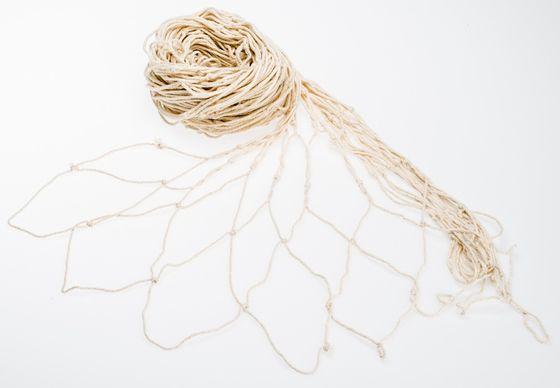 Fischernetz, 3m² beige | 120x250cm – Bild