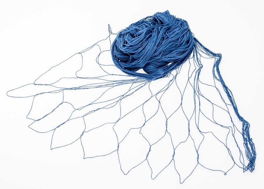 Fischernetz, 8m² blau | 200x400cm