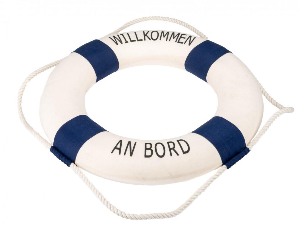 Rettungsring blau/weiß 50cm