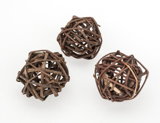 Brunch Ball natur 4cm 20 Stück | Rankenkugel – Bild 2