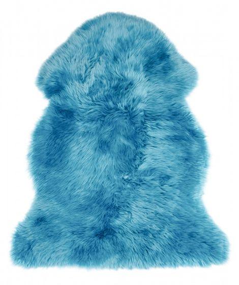 Schaffell ozeanblau | Lammfell – Bild 1