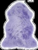 Schaffell flieder | Lammfell – Bild 1