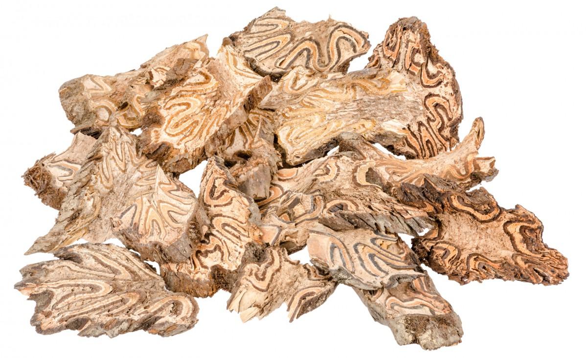 Lianen Holzscheiben 350g | Deko Lianen