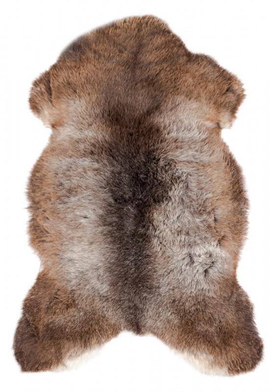 Schaffell natur braun 90-110cm
