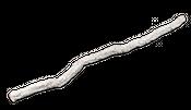 Korkeichenstamm weiß 200cm x 6-8cm – Bild 1