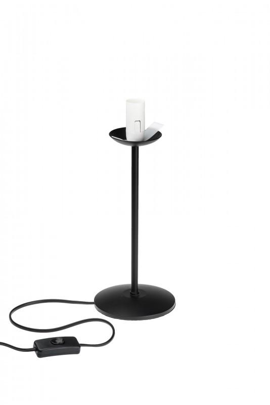 Lampenständer 25cm hoch für Strausseneilampen | Straußenei Lampenfuss