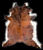Kuhfell Teppich braun 236x220cm WYSIWYG (Direktauswahl) Nr. 359798 – Bild 1