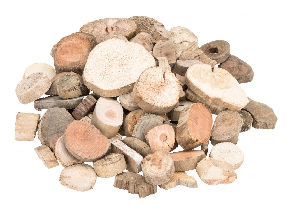 Treibholz Scheiben 0,5kg | Holzscheiben